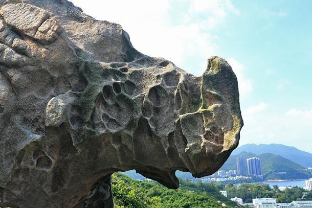 赤柱犀牛石
